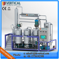 VTS-PP Vertical Used Different Oil Recycling Plant(Change Black Oil to Yellow)
