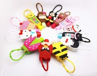 30ml Hand Sanitizer With animal shaped Silicon Holder