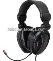 Best sound quality Computer Game headphone with detachable MIC