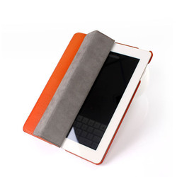 Four Folding Protective Case For iPad Stand Leather Case For iPad 3 Smart Cover For iPad 2 Fit For iPad 4