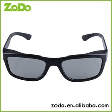 fancy resin italy style design rimless 3d glasses for tv