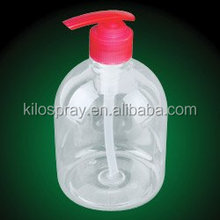 cylinder pet material white 500ml plastic bottle with cap 500ML OPAQUE HDPE SPRAY BOTTLE WITH TRIGGER, 500ML HDPE PLASTIC SPRAY