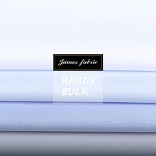 James 70% cotton 30% polyester solid dyed shirt fabric ready bulk