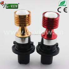 amber color auto fog light ph24wy 10-30v led car 20w