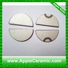 Semicircle PZT Ceramic Piezoelectric Disc for Medical Euipment