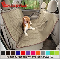 Polyester Waterproof Outdoor pet dog seat cover