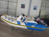 rigid inflatable sailing yachts fiberglass hull PVC boat rib470 rib boat