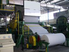 Zhengzhou best quality kitchen towel machine, kitchen towel making machinery for recycle paper