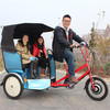 three wheel rickshaw with pedal and electric style