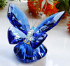 Crystal butterfly wedding favor for guest