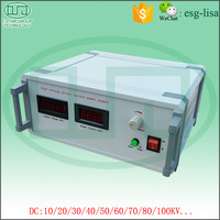 30kv/1mA Laboratory Power Supply Adjustable DC Power Supply High Voltage DC Power Supply