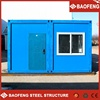 heat preservation 40ft prefab folding container homes for sale