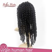 afro kinky curly hair wig brazilian human hair wig wholesale cheap human hair wigs