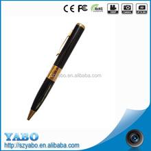 HD 720P Mini Spy Pen HD Audio / Video Recorder Hidden Pinhole Camera Camcorder DVR Black gold / black and silver 1.3M Pixel
