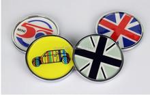 car chrome badge emblem/unique car badges auto emblems