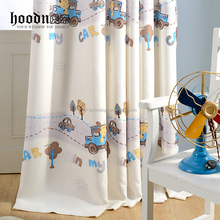 baby bedroom window curtains with cartoon photo, lovely curtains