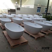 Stone resin bath / cast stone bathtub / gel coat bath tub