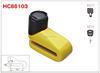 HC86103 Zinc alloy soild body popular waterproof cover disc brake motorcycle locks