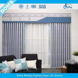 100% Polyester fabric window curtain
