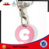metal trolley keyring coin holder