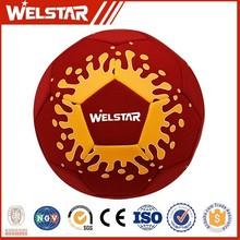bright color popular neoprene soccer ball for team training