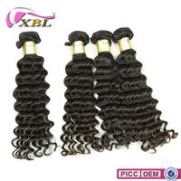 8A Full Ends Deep Wave Human Hair Weaving,Wholesale Price European Remy Hair Weave