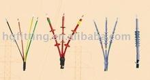 Heat shrinkable cable terminal kit