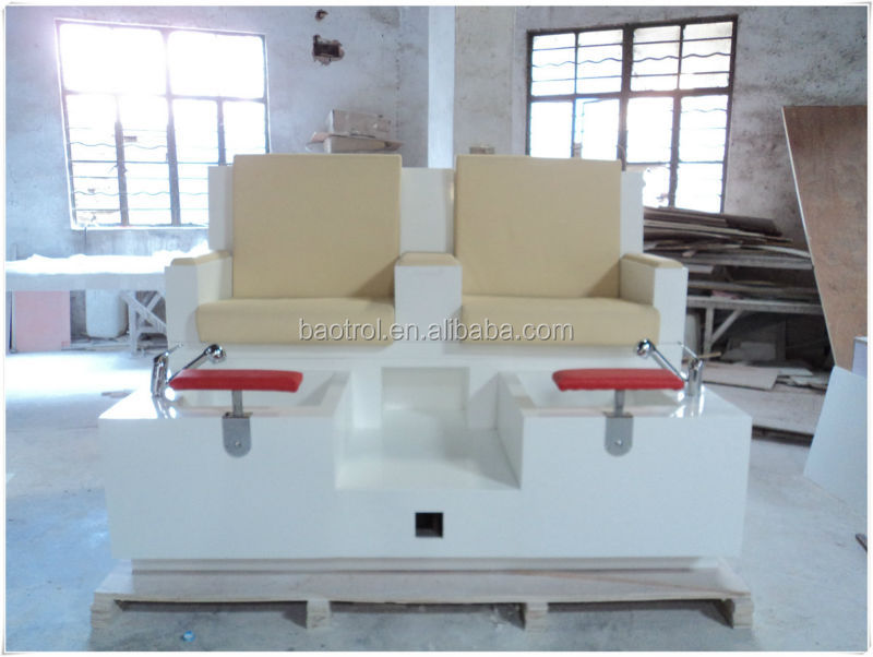 White Manicured Nails Nail Table Wood Manicure