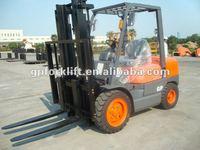 3.5 ton ISUZU engine diesel forklift truck/testing machine