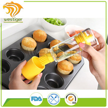 Container Press and Measure Oil Dispenser and Vinegar
