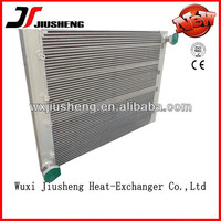 China manufacturing aluminum bar plate air to oil heat exchanger
