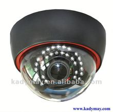 2013 NEW!!! Dome Indoor Wide Angle 30M IR cctv camera with osd menu (360 degree Fish-Eye lens)