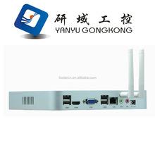 OEM RJ45 Intel I3 Mini PC Computer,DC 12v Mini Itx htpc,thin client Mini pc DC 12V