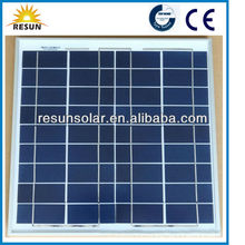 2014 New Poly Solar Panel Price 25W Manufacturer With CE TUV Certificate