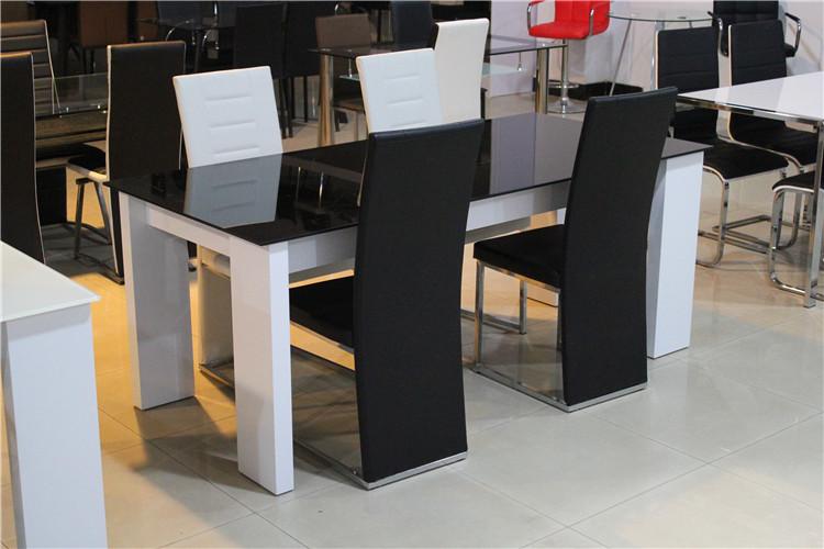 High End Modern Dining Table With Glass Top White High  : HTB1g2kJFXXXXaxXXXXq6xXFXXXo from alibaba.com size 750 x 500 jpeg 120kB