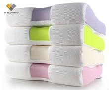 lavender/ charcoal/aloe/rose memory foam pillow