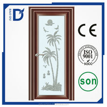 aluminium bathroom door baodu brand aluminium alloy doors design single shower room