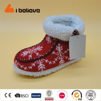 Primark partner high quality warm wool plush woman winter snow boot