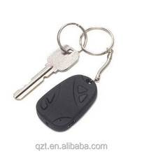 MINI CAR KEY HIDDEN CAMERA 808 KeyChain Digital CAM Chain DV DVR WebCam Camcorder Video Recorder 100pcs