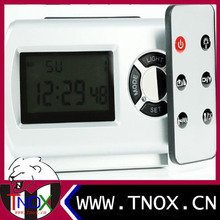 2014 newest 1080P night vision digital alarm clock camera with HDMI cable