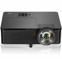 factory wholesale long throw HD 1024*768p DLP portable video projector 4000 lumens