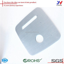OEM ODM customized stainless steel drilling switch cover for home appliances