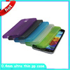 0.4mm Plastic Case Ultra thin Transparent Matte Hard Back Cases Shell Cover For samsung