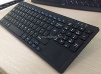 Cheapest Hotsell 2.4g wireless bluetooth keyboard with touchpad
