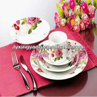 ceramic lavender dinnerware