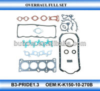 Full gasket kit for PRIDE1.3 engine B3