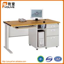abile produzione di acciaio casa di metallo mobili tavolo computer con popolare mercato