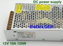 DC 12V 10A 120W Switch Power Supply for LED Strip Light Switching AC 110V/220V