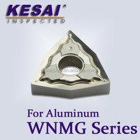 Kesai WNMG Tungsten Carbide Cutting Inserts for Aluminum
