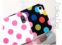 For iphone 5c covers case Fashionable IMD Polka Dots phone case for iPhone 5c covers case